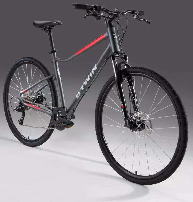 Comparatif vélo de ville Btwin Riverside 500