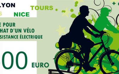 Vélo à assistance Electrique : toutes les primes à l'achat