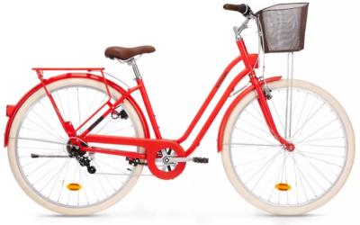 Vélo de ville pas cher : comparatif Elops 120 vs Elops 520