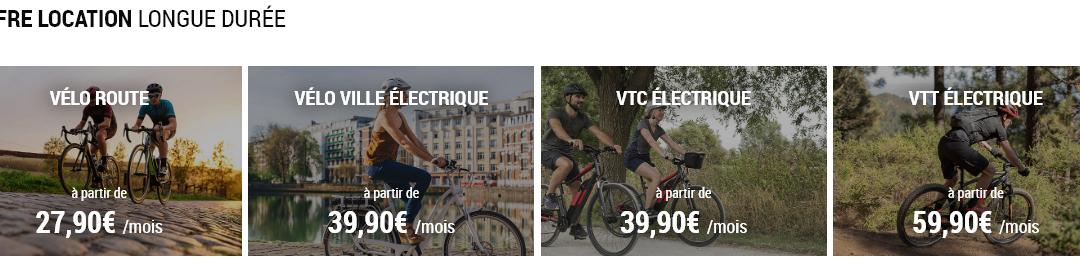 Tout savoir sur l'offre de location longue durée de vélos Décathlon !